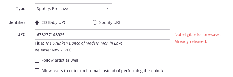 How to find your URI from Spotify